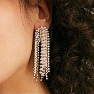 Free People Jewelry - Free People Serafina Pink statement dangle Earring